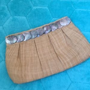 Abalone shell Clutch
